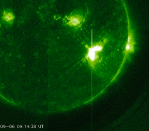 X-Flares and geomagnetic storms of the week