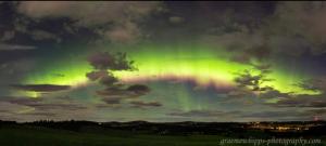 Aurora - Scotland, 00:27 UTC, 8th September 2017